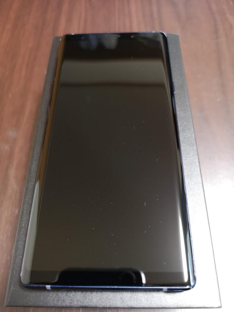 Galaxy Note 9 ディスプレイ
