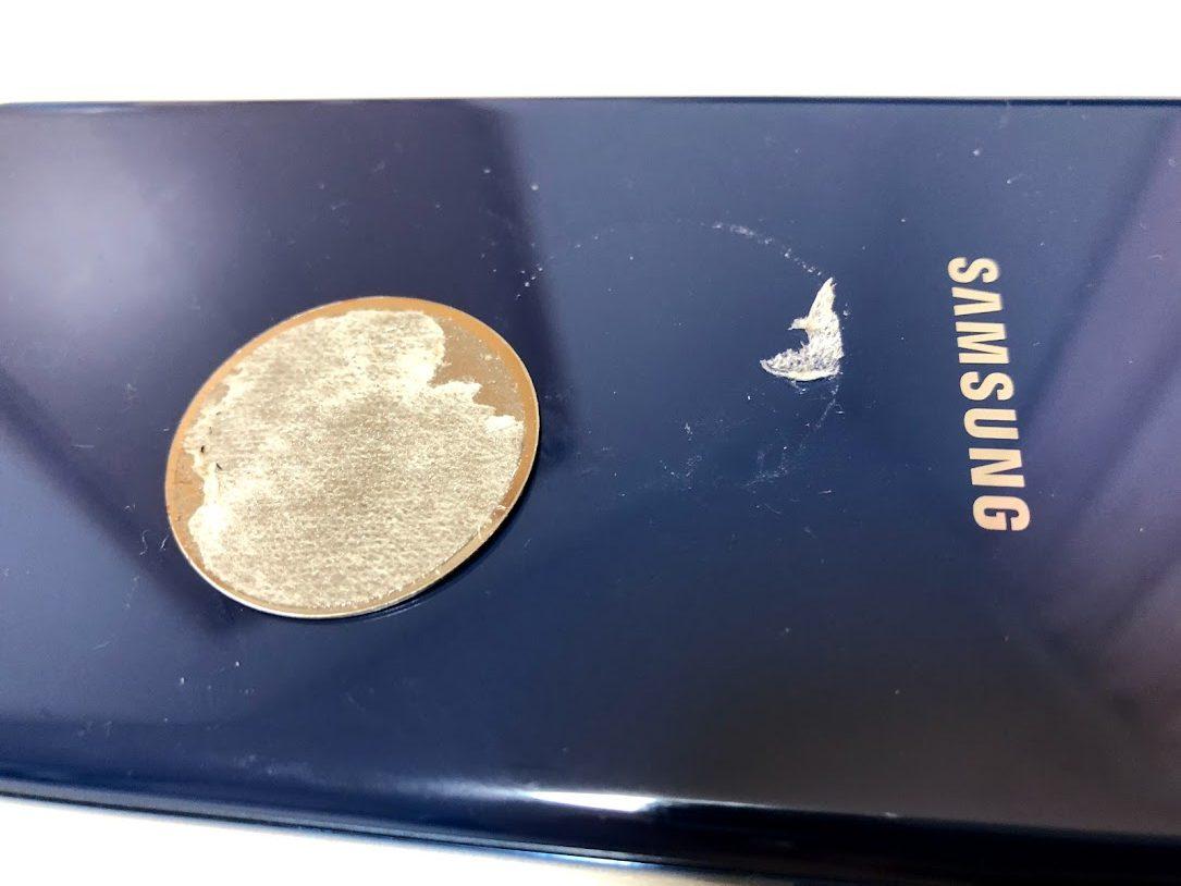 スマートフォンに付けたバンカーリングが絶対外れる方法