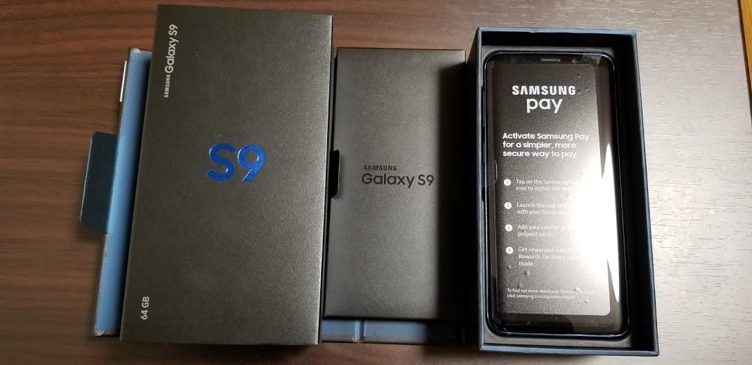 Galaxy S9付属品
