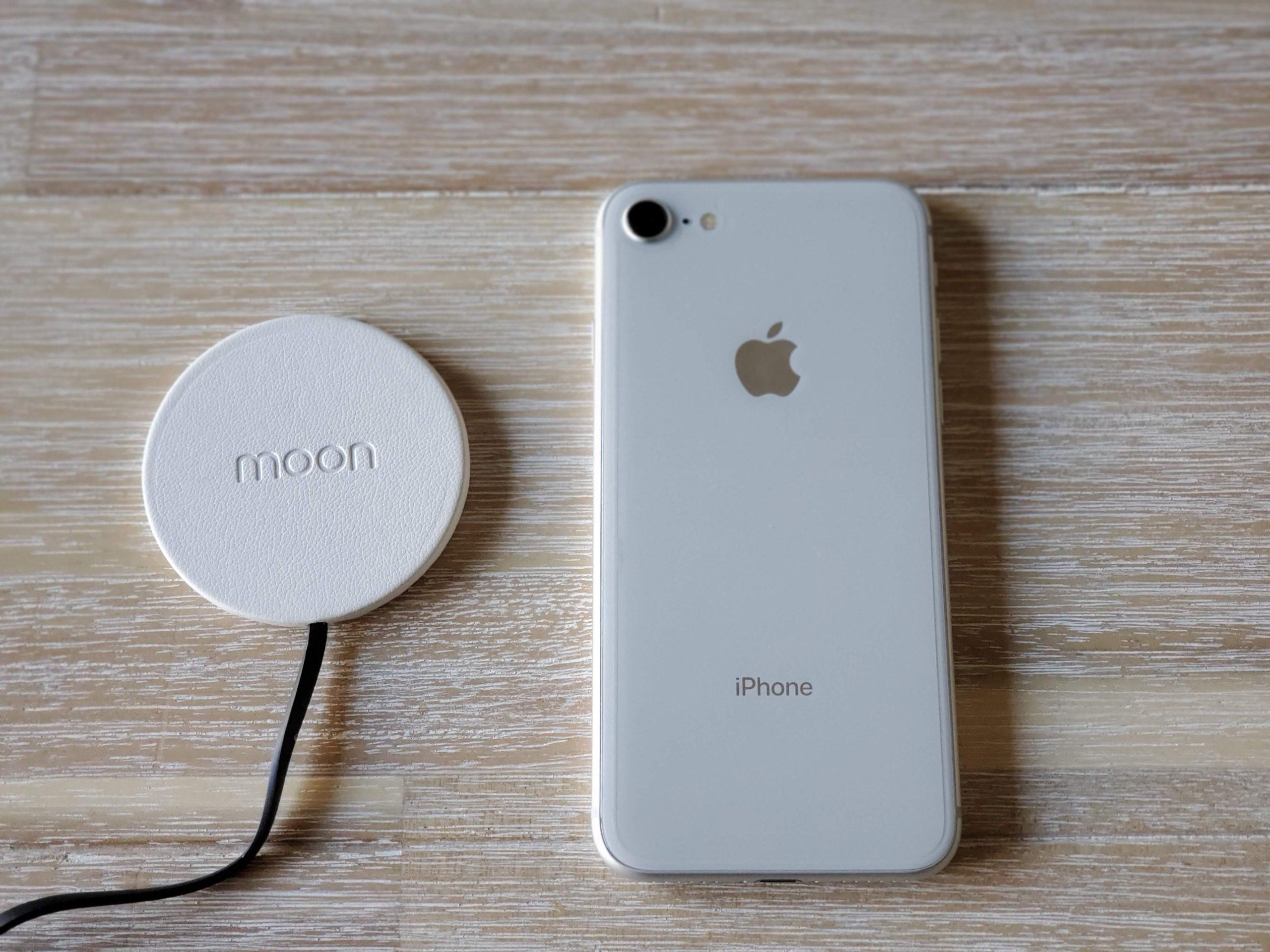 最小最薄防水ワイヤレス充電器moonを購入レビュー